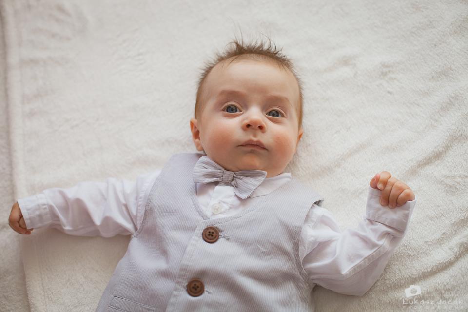 Zdjęcia z chrztu małego Aleksandra. Fotograf na chrzest Mińsk Mazowiecki