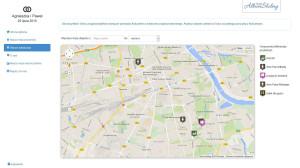Organizer ślubny. Mapa dojazdu znacząco ułatwia Parze Młodej poinformowanie gości o miejscu ślubu oraz wesela.