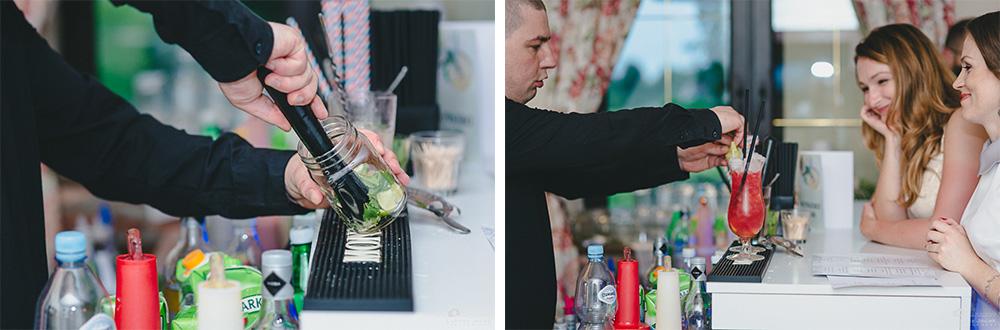 Drink Bar na przyjęciu weselnym w Otwocku.